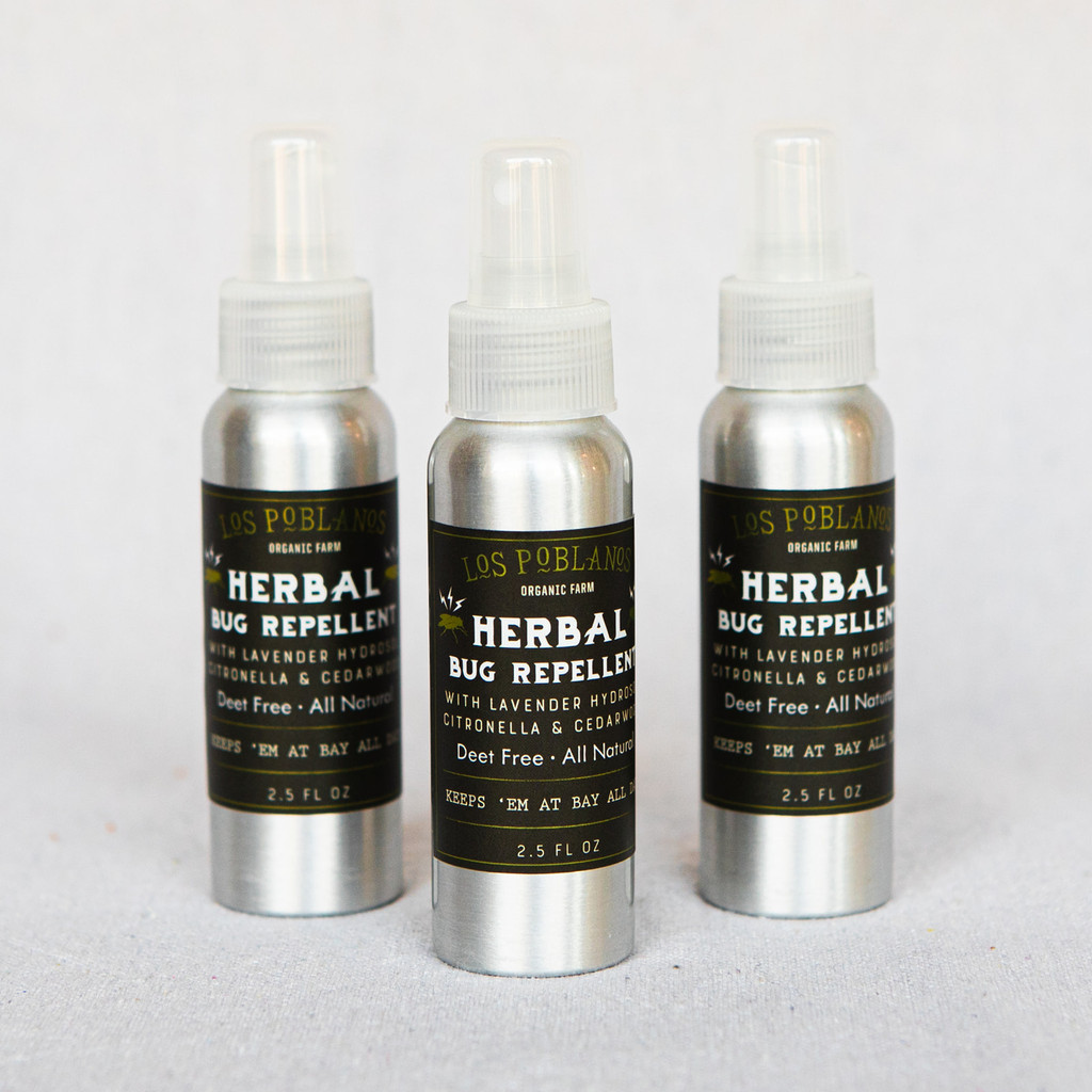 Los Poblanos : Herbal Bug Repellent