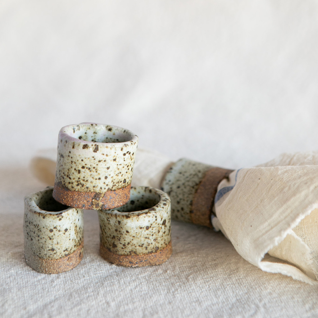 Lucy Michel : Napkin Rings (Set of 4)