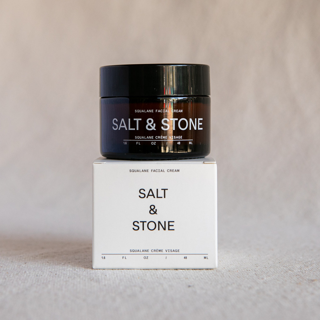 Salt & Stone : Squalane Facial Cream 48ML