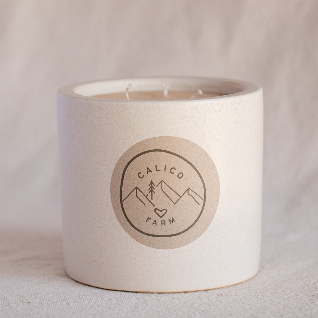 Ojai Vista Farm : Hand Poured Candle