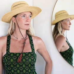 Midland : African Woven Grass Hat