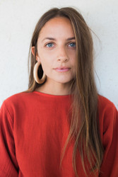 Sophie Monet : Large Pine Hoops