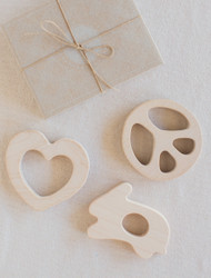 Wooden Story : Peace Teether