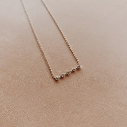 Ariel Gordon : Diamond Horizon Necklace