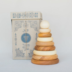 Wooden Story : Natural Stacker