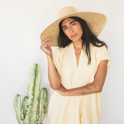 Miranda Bennett : Everyday Dress Linen Corsica