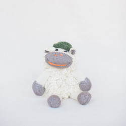 Midland : Organic Cotton Handknit Little Lamb