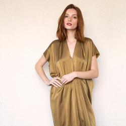 Miranda Bennett : Everyday Dress Silk Charmeuse