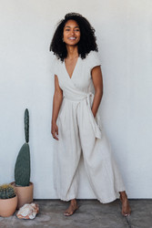 Sugar Candy Mountain : The Angela Jumpsuit in Dune