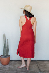Sugar Candy Mountain : The Fern Dress in Red
