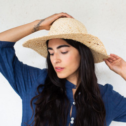 Brookes Boswell : Maize Straw Hat