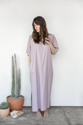 Town Clothes : Portobello Dress in Woodrose