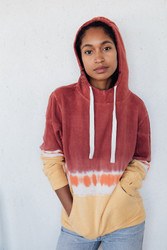 Jungmaven : Dip Dyed Maui Hooded Sweatshirt