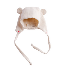 Ellie Fun Day : Organic Bear Hat