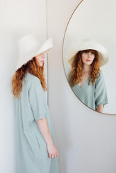 Brookes Boswell : Tubu Crushable Straw Hat
