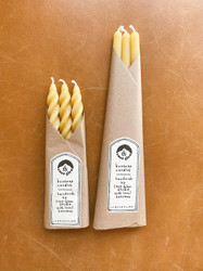 Cave Glow : Pure Beeswax Spiral Set
