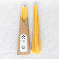Cave Glow : Pure Beeswax Taper Set