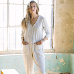 Rachel Pally : Linen Troy Jumpsuit - Natural