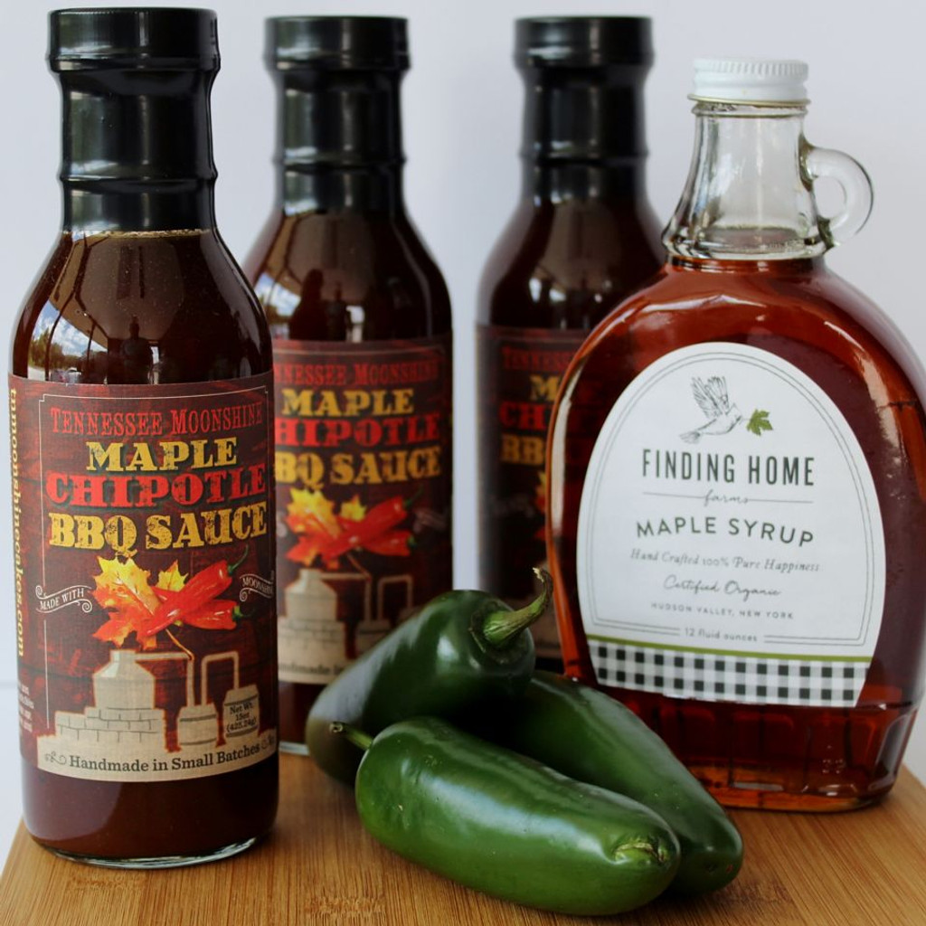 Maple Chipotle Moonshine BBQ Sauce