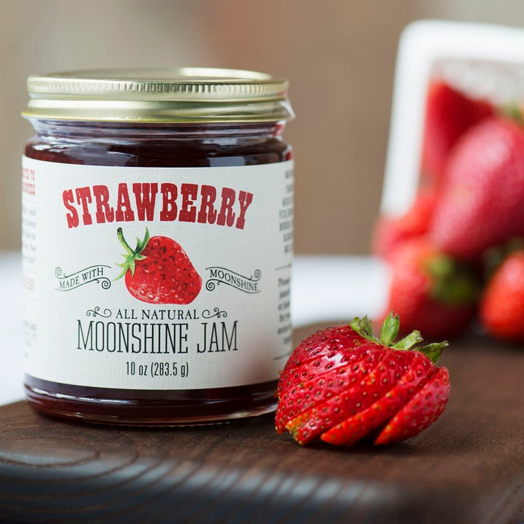 Strawberry Moonshine Jam