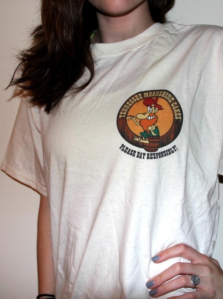 Tennessee Moonshine Cakes Tee Shirt - Sand