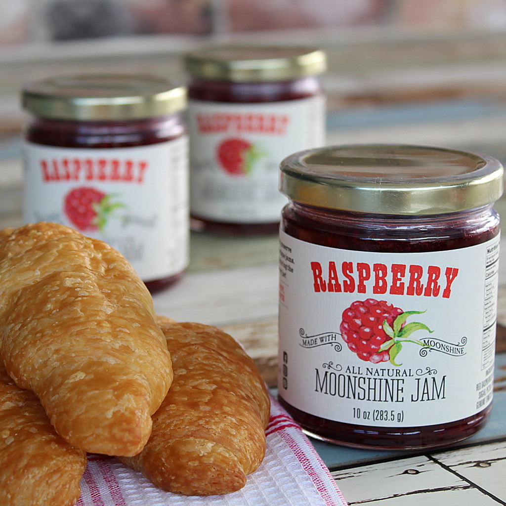 Raspberry Moonshine Jam