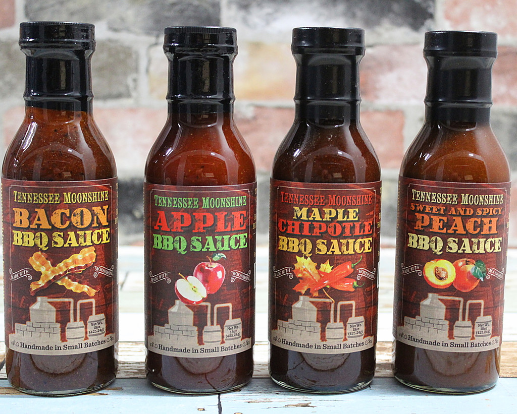 Tennessee Moonshine BBQ Sauce - Choose any three  -  Save $3