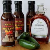 Maple Chipotle Moonshine BBQ Sauce