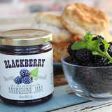 Blackberry Moonshine Jam