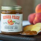Ginger Peach Moonshine Jam