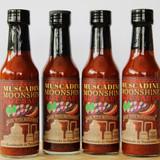 Muscadine Moonshine Hot Sauce   5 oz bottle