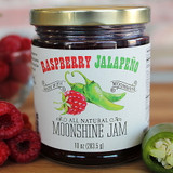 Our classic raspberry jam, paired with the subtle heat of jalapenos, is destined to become a customer favorite. Made in small batches with only the freshest ingredients, our jam is all-natural, and gluten and preservative free. Serve it over a block of cream cheese or use it as a glaze on salmon or pork tenderloin and prepare to offer second helpings to everyone at the table!
