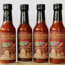Muscadine Moonshine Hot Sauce   5 oz bottle