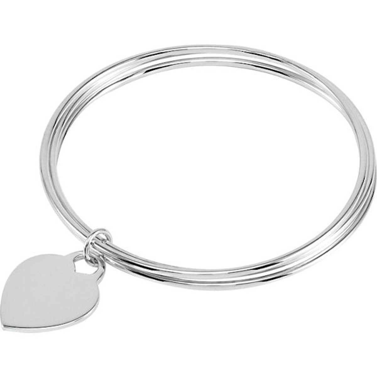 Sterling Silver Triple Bangle Bracelet