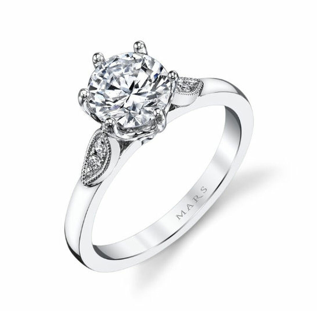 0.10 Ct Tw Diamond Engagement Ring