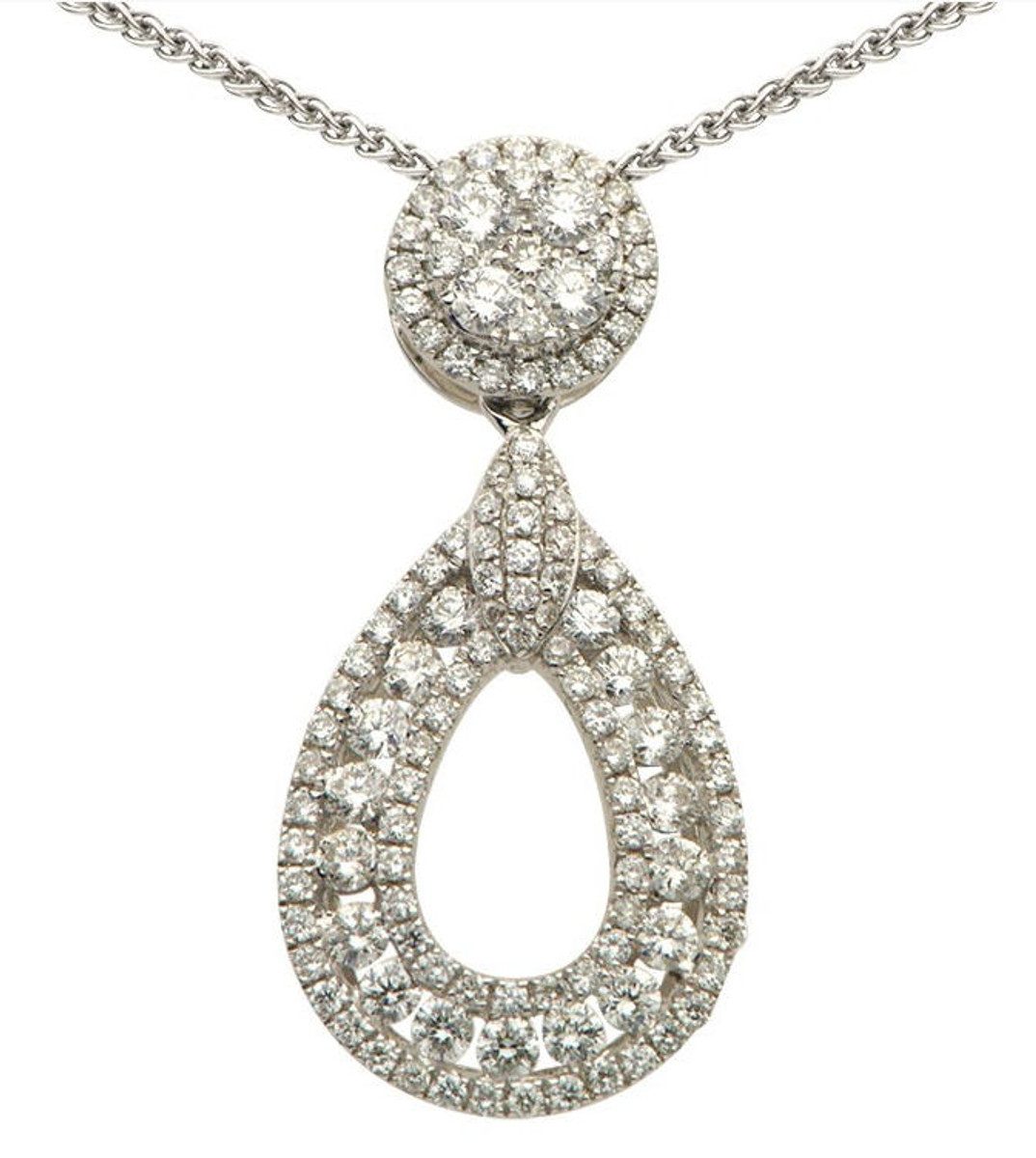 0.85 Ct Tw Diamond Pendant