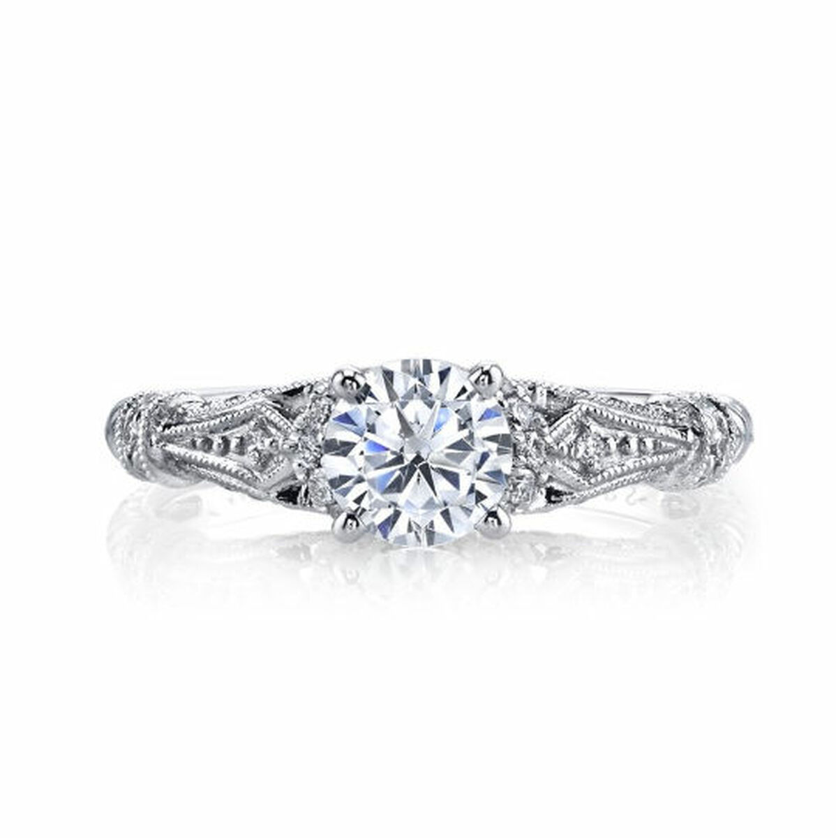 Vintage Diamond Accent Ring