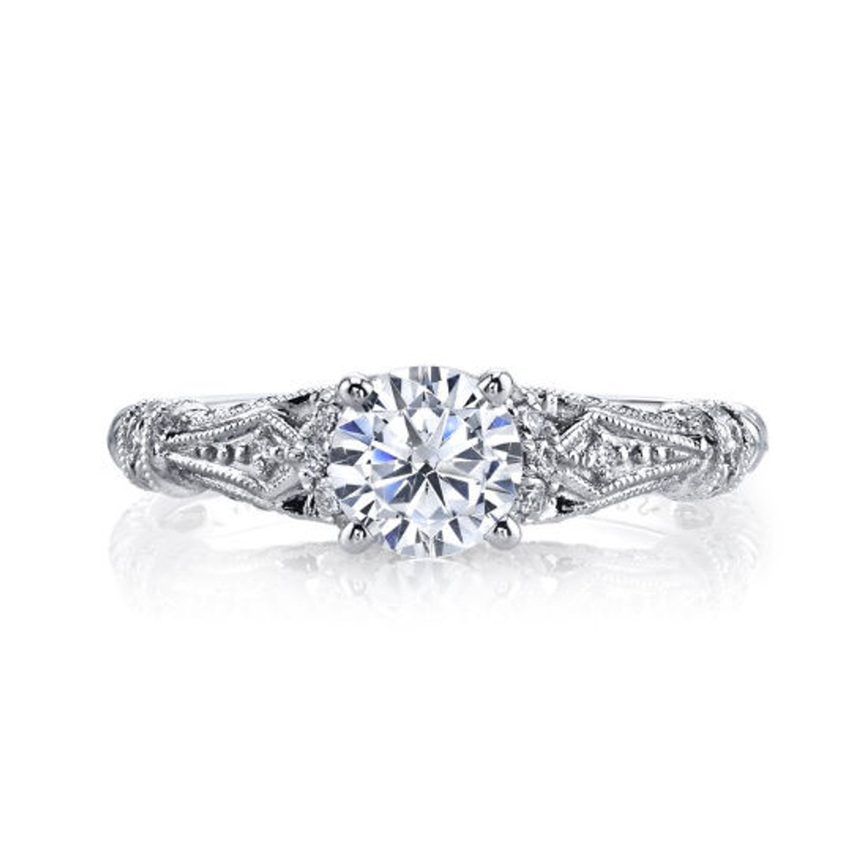 Vintage Diamond Accent Ring