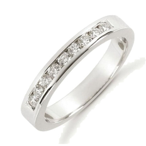 White Gold Diamond Anniversary Ring