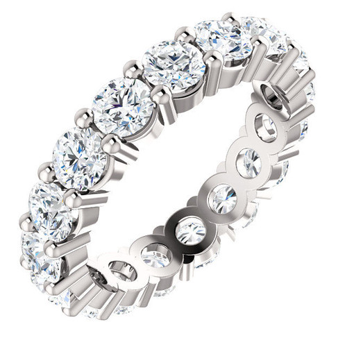 White Gold Classic Eternity Ring