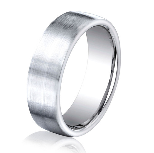 Classic Cobalt Chrome 7.5 MM Wide Ring