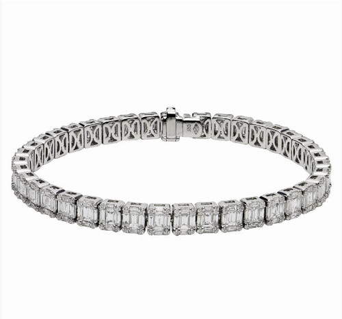 7.17 Ct Tw Diamond Bracelet