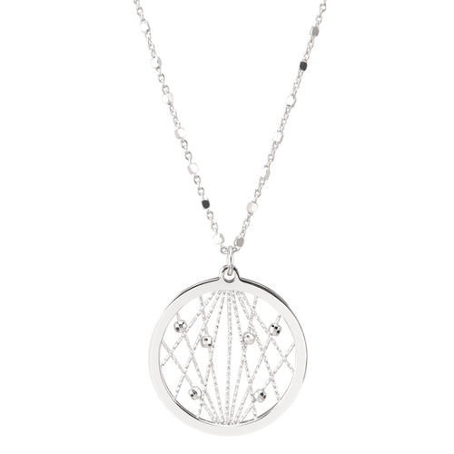 Sterling Silver Milky Way Necklace, Frederic Duclos