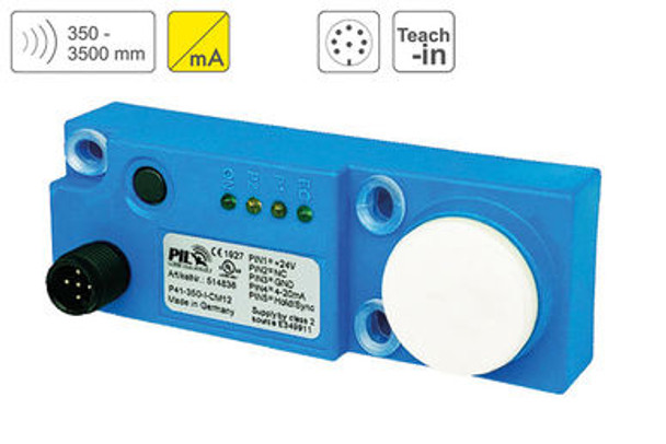 P41 Ultrasonic Sensor P41-350-I-CM12