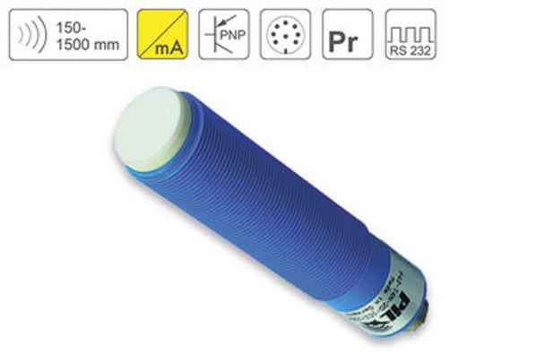 P42 Ultrasonic Sensor P42-150-M30-PBT-I2P-RS232-C723