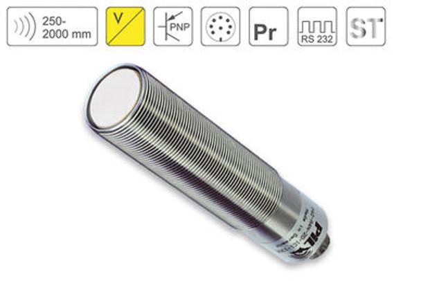 P42 Ultrasonic Sensor P42-200-M30-ST-U2P-RS232-C723