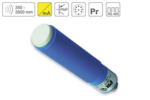 P42 Ultrasonic Sensor P42-350-M30-PBT-I2P-RS485-C723