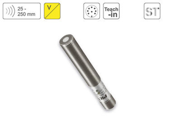 P43 Ultrasonic Sensor P43-25-M12-ST-U-CM12