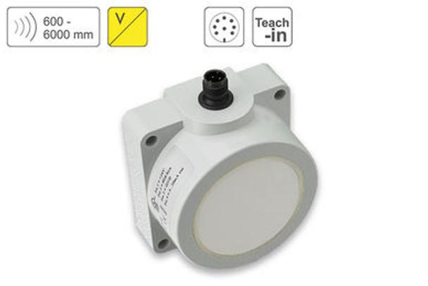 P43 Ultrasonic Sensor P43-600-Q50-PBT-U-CM12