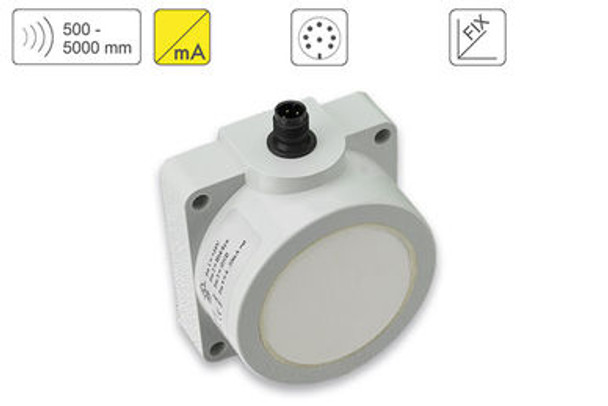P47 Ultrasonic Sensor P47-500-Q50-I-CM12